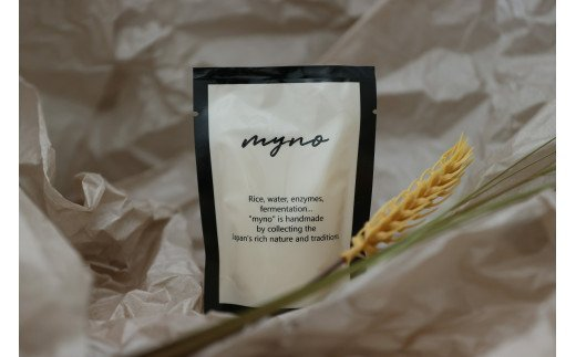 M288 Jリーガーが宮若のお米で作った酵素甘酒「マイノ」<「米酵素甘酒」50g×7袋と「米酵素甘酒とブルーベリー」50g×7袋>