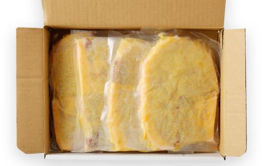 熊本県産モンヴェールポーク モモ肉 みそ漬け 1kg (250g×4P)