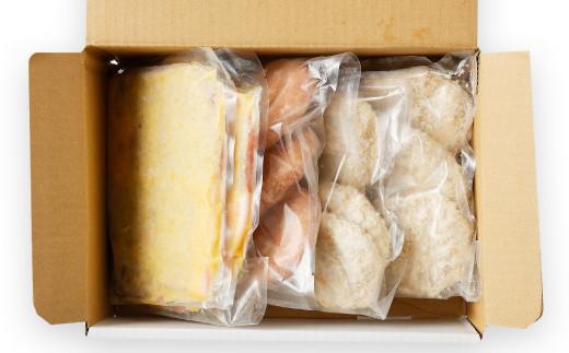 熊本県産 モンヴェールポーク セット モモ味噌漬け メンチカツ ハンバーグ