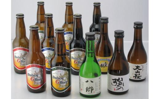 【21-020-004】くめざくら地ビール・地酒 12本セット