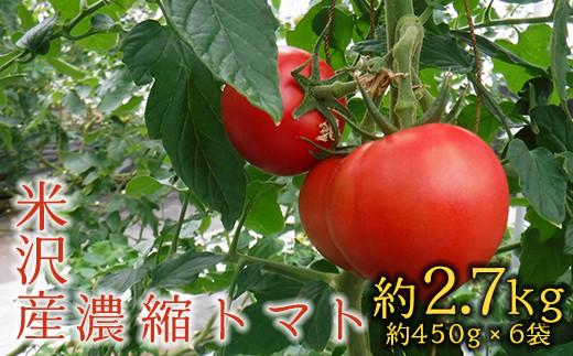 【数量・期間限定】濃縮 トマト(みそら64)約2.7kg(約450g×6袋)