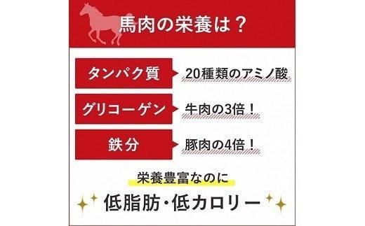 完全熊本県産 馬刺し 約450グラム セット 甘口醤油付き 馬肉 赤身
