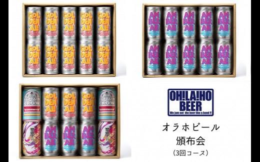 オラホビール頒布会(3回コース)