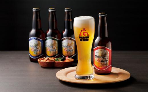 【21-019-001】大山Gビール飲み比べセット12本 【高島屋選定品】