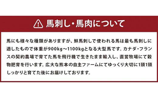【阿蘇・熊本復興記念】高森限定 馬肉 ヒレ サイコロステーキ 計300g
