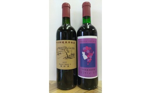 3405 甲州街道栗原宿産赤ワインセット