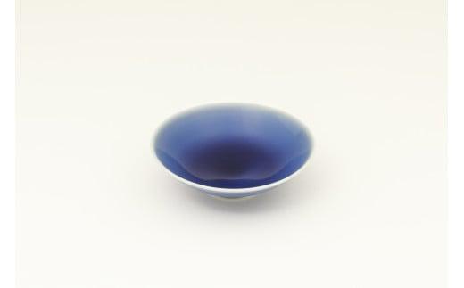 有田焼/坂本達也/瑠璃釉平鉢