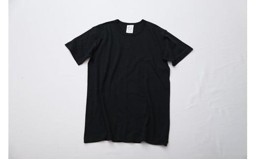 EIJI T-SHIRT Vネック ブラック_SM07