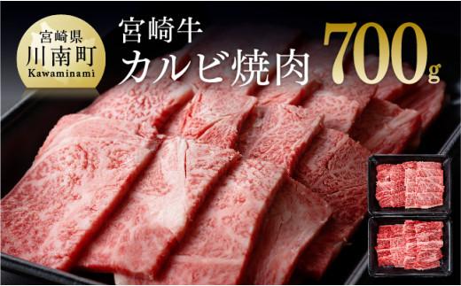 宮崎牛カルビ焼肉350g×2