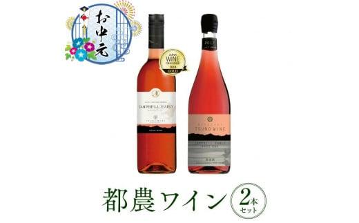 A289-GEN 《お中元》Sweet&Dryキャンベル・ロゼ2本セット(都農ワイン)