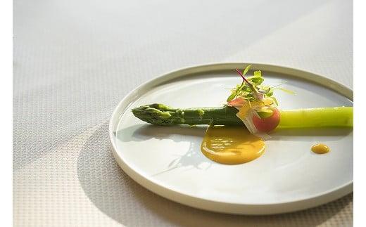 料理一例:アスパラ料理 ※季節や仕入れ状況により内容が変わります