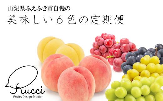 美味しい色をお届け!『YAMANASHI COLORS』定期便(全6回)