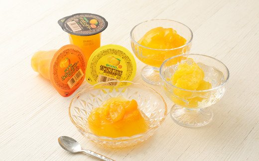 くまもとの果実巡り 12個入り ゼリー詰め合わせ みかん 甘夏 デコポン 柑橘
