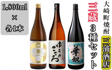 大崎三蔵(天星・新平・太久保)3種セット
