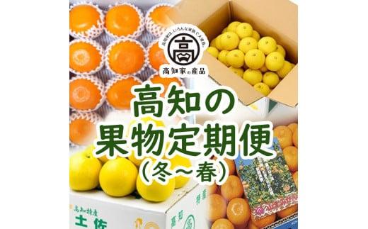 【E03015】高知の果物定期便(冬~春)