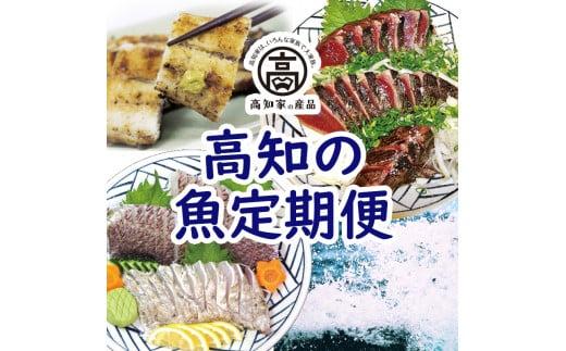 【E03014】高知のお魚定期便