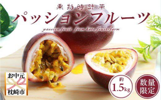 【お中元】トロピカルパッションフルーツ約1.5Kg クレジット決済限定 AA-533