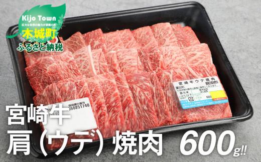 K18_0017<宮崎牛肩(ウデ)焼肉600g>