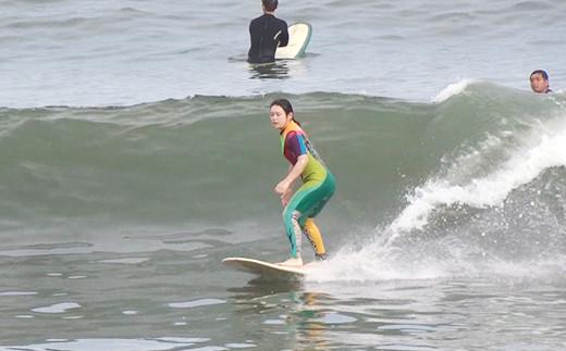 サーフィンの楽しさと海での幸せを満喫してもらえる自信があります。