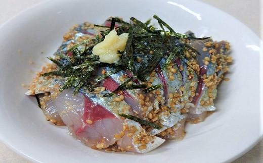 【B7-002】アジフライ&とろける旨味と食感のごまサバセット