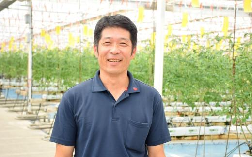 『有限会社グリーンファーム沖美』 代表取締役 松本 秀二郎さん