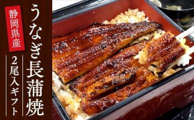 静岡県産うなぎ長蒲焼2尾入ギフト