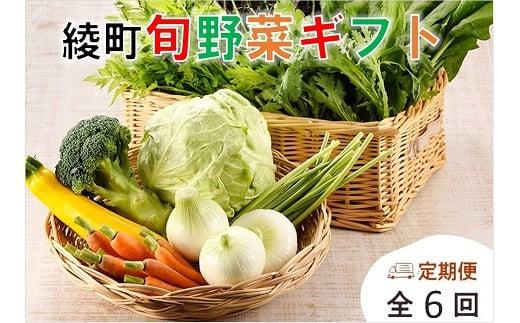 04-05_2 綾町旬野菜ギフト【6か月(偶数月)定期便】