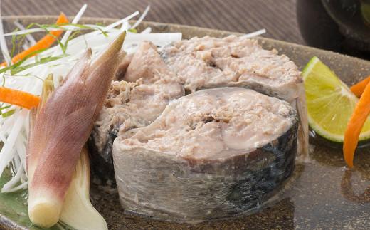 味わい鯖水煮 飾り盛付