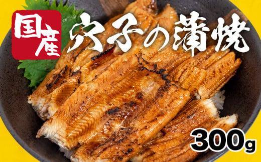 【チャレンジ応援品】ふっくら香ばしい!穴子蒲焼き300g