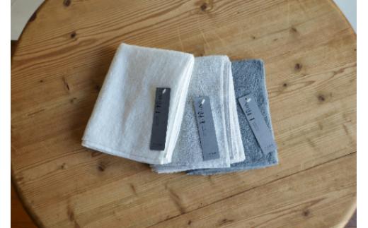 天衣無縫 オーガニック超長綿使用 スーピマ24 フェイスタオル3枚セットA han014-24FT-A_10914