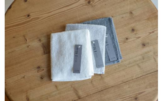 天衣無縫 オーガニック超長綿使用 スーピマ24 ウォッシュタオル3枚セットA han011-24WT-A_10911