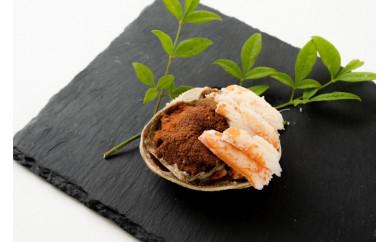 セイコ蟹の甲羅盛