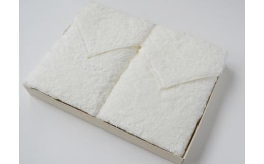 天衣無縫 オーガニック超長綿 スーピマエンジェル フェイスタオル2枚箱入りセット GT-710_10928