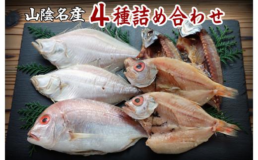 【21-015-022】山陰の干物 4種詰合-梅