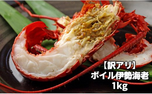 C01-206 訳ありボイル伊勢海老1kg【チャレンジ応援品】