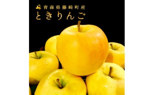 コク深い甘さと香り<とき>ご家庭用 14~22玉 ときりんご【1077841】