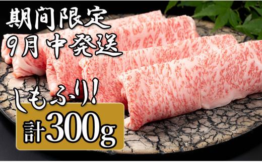 N10-50【チャレンジ応援品】佐賀牛ロースしゃぶしゃぶ・すき焼き用 300g