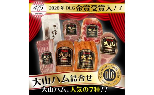 【21-020-020】大山ハム ローストビーフ&食の匠工房(国産原料肉使用)6種詰め合わせ(1.0㎏)