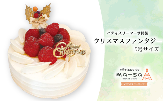 DS015 【クリスマスケーキ】クリスマスファンタジー(20個限定・11/30締切・12/20頃発送)
