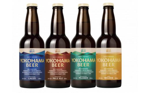 【共通:E-140】横浜ビール 人気 4種24本セット〈横浜ビール醸造所〉