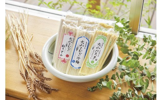 【21-010-049】鳥取県産大山こむぎ 麺アソートA