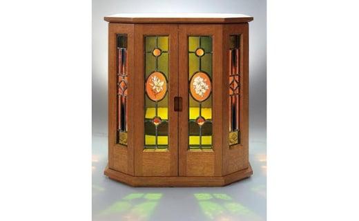 「ステンドグラス祭壇」宝箱・キャビネット・祭壇など自由な使用が可能