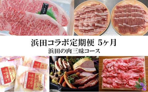 1509.浜田コラボ定期便 浜田の肉三昧コース【2022年1月から発送開始】