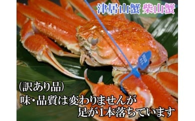 日本海産 ブランド蟹  茹で松葉蟹 【訳あり】特大サイズ matubakani1000
