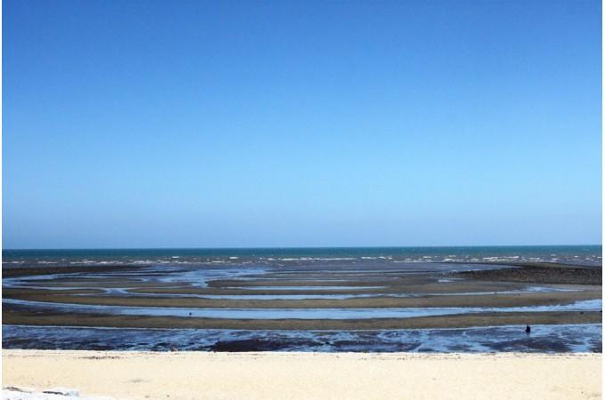福岡県築上町の浜の宮海岸
