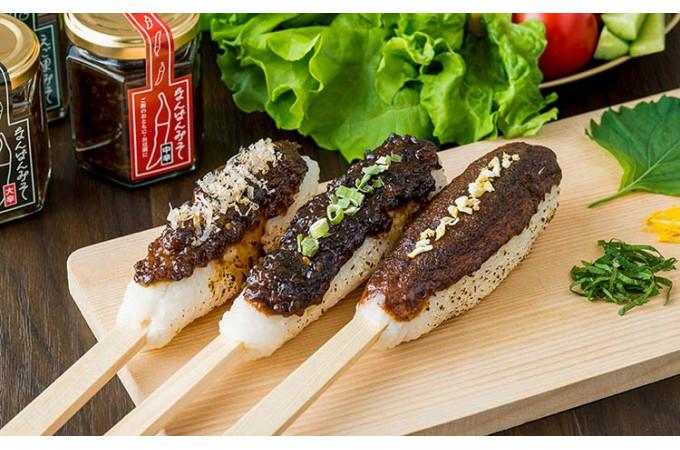新米にのせてハフハフ食べたい!おかず味噌3種
