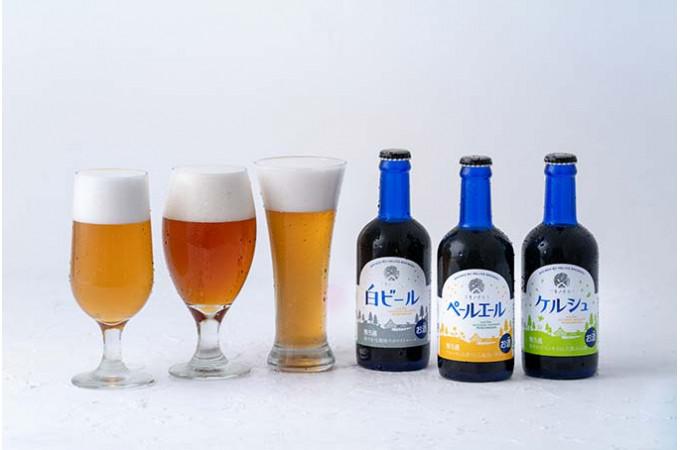 豪雪の北国・西和賀の地と、常夏の沖縄発の酒造会社「ヘリオス酒造」という面白い掛け合わせで昨年誕生した「ユキノチカラビール」。