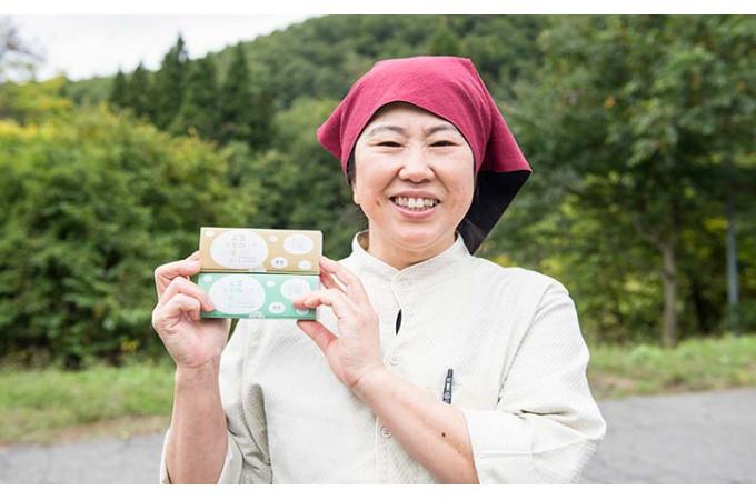 見た目も名前も可愛らしくきなこや黒蜜がはいったわらび餅は和菓子好きにはたまらない美味しさ。