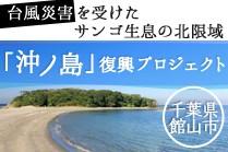 台風21号で被災した「沖ノ島」の復興支援