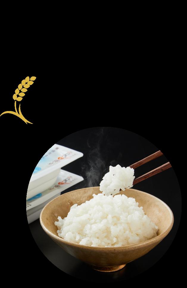 全国各地で開発されるブランド米のパックライス